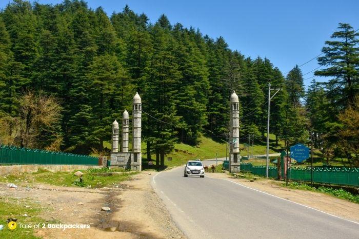 Lolab Valley Entrance