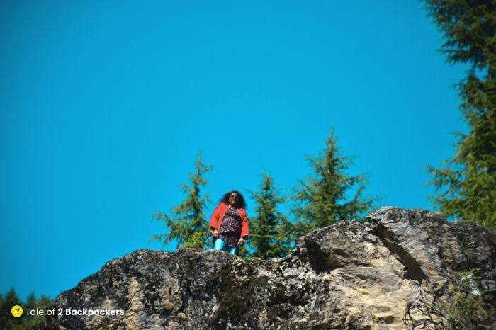 On top of Satbaran at Kalaroos Caves