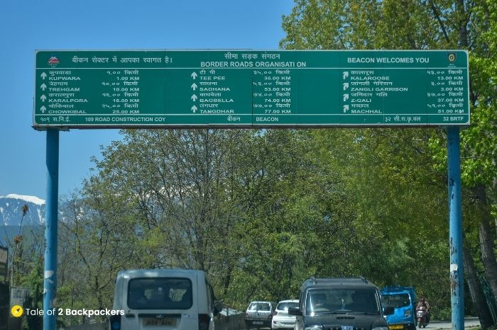 Road to Kupwara