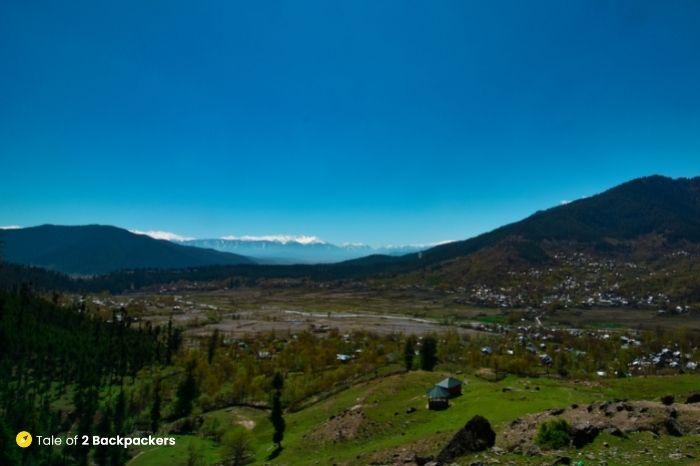 View from hill top at Kalaroos
