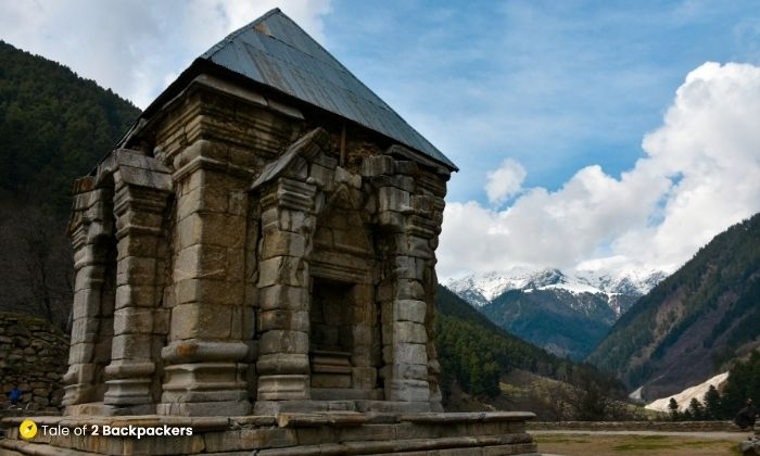 Ancient Naranag Shiva Temple Complex
