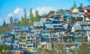 Charar-e-Sharif town