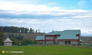 JKTDC Tourist Bungalow Aharbal Kashmir