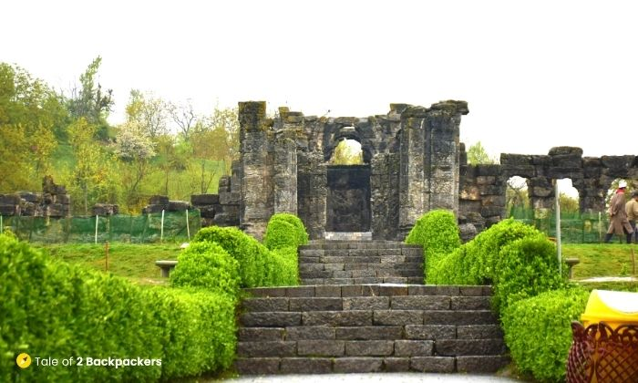 Martand Sun Temple at Anantnag, Kashmir