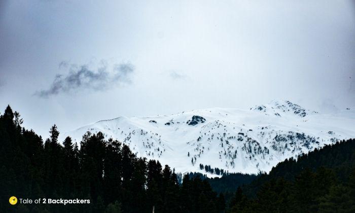 Pir Panjal Range in Kashmir