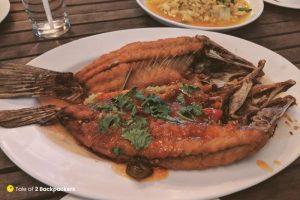 Sea food at Thailand