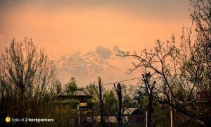 Snowcapped mountains of Kashmir