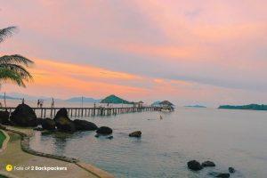 Sunset at Koh Mak Thailand
