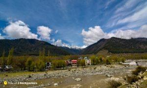 View of Pahalgam Kashmir