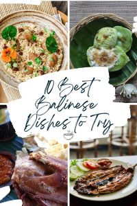 10 Best Balinese dishes to try