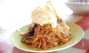 Lawar - food to try in Bali