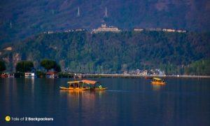 Shikaras of Dal Lake Kashmir