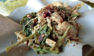 Tipat Cantok _ Vegan dish in Bali