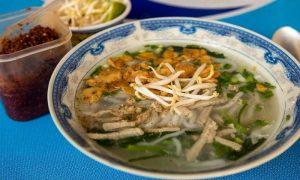 Khao Piak Sen - traditional breakfast from Laos, Asia